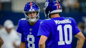 Eli Manning Bluntly Addresses Future With Giants If He's Not Starting QB
