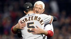 Tom Caron, Tim Wakefield Reflect on Carl Yastrzemski's First Pitch Vs. Giants