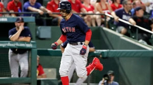 Alex Cora Gives Update On Mookie Betts After Exiting With Foot Injury