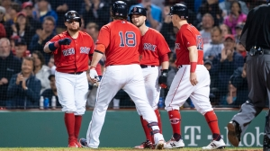 Red Sox Vs. Yankees Lineups: Mitch Moreland, Andrew Benintendi Sit For Finale