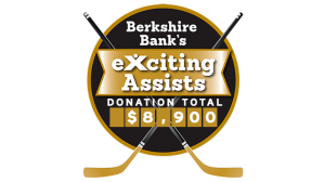 Berkshire Bank Foundation To Donate $100 For Each Bruins Assist To Three Local Non-Profits