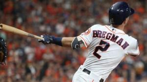 Watch Alex Bregman Try Out New 'Bat Flip' Technique With World Series HR