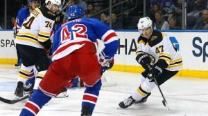 Coach Bruce Cassidy Praises Bruins After Wild Comeback Win Vs. Rangers