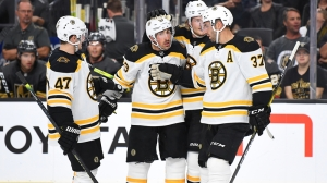 Check Out All Four Goals From Bruins' Second-Period Onslaught Vs. Rangers
