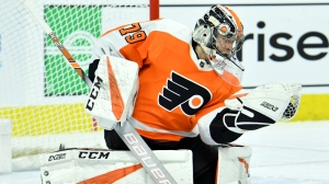 Save Of The Year? Watch Flyers' Carter Hart Deny Taylor Hall With Crazy Stop