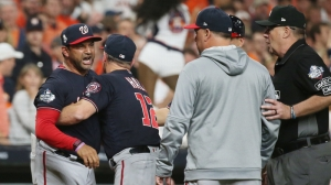 Watch Dave Martinez Get Ejected From World Series Game 6 After Controversial Call