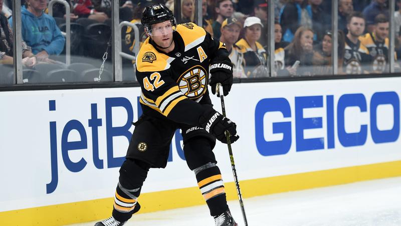 Here's How David Backes Is Helping Former Bruins Teammates During Coronavirus Pandemic