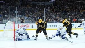 Bruins Wrap: Top Line Stays Hot In Boston's 4-2 Win Vs. Maple Leafs