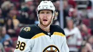 David Pastrnak Has Put Pucks On Net At Career-High Levels This Season