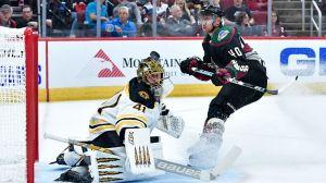 Bruins Wrap: Jaroslav Halak Dazzles With 35 Saves, Boston Tops Coyotes 1-0
