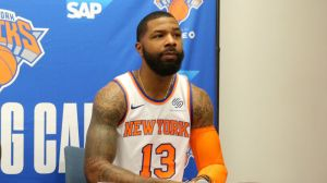 Knicks' Marcus Morris Can't Be 'Upset At Tacko Fall' Amid Crazy Fans