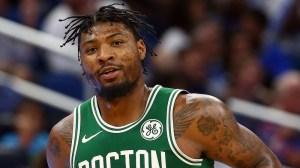 Watch Celtics' Marcus Smart Throw Robert Williams Insane No-Look Alley-Oop