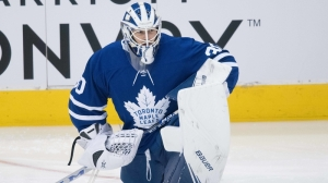 Michael Hutchinson Gets Start In Net As Maple Leafs Travel To TD Garden