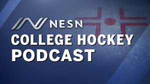 NESN College Hockey Podcast: Hockey East Tournament Preview, Guest Logan Mullen