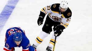 Patrice Bergeron's Mammoth Performance Leads Way As Bruins Defeat Rangers