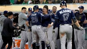 Rays Advance To ALDS With First Postseason Game Win Since 2013 Vs. A's