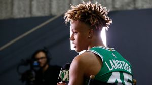 Romeo Langford Suffers Ankle Injury In Maine Red Claws' Home Opener
