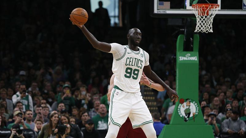 Celtics Big Man Tacko Fall Has Gripe With 'NBA 2K20' Height Measurement