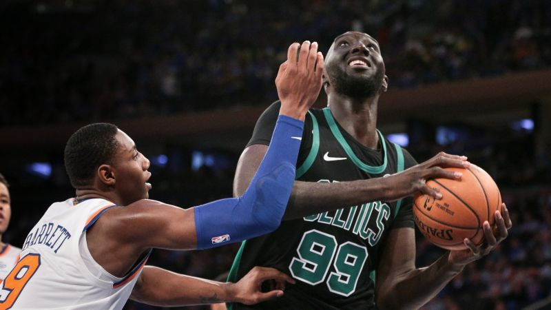 Watch Tacko Fall's Perfect Shooting Day En Route To 21-Point Effort For Red Claws