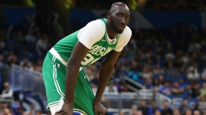Watch Tacko Fall's Two Mammoth Blocks From Maine Red Claws' Home Opener