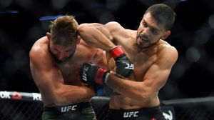 UFC Boston Results: Yair Rodriguez Edges Jeremy Stephens In Wild Back-And-Forth Rematch