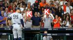 Yankees Star Aaron Judge Has Fitting Reaction To Astros' Cheating Scandal