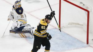 Brad Marchand Knots Score At One For Bruins Late In First Vs. Sabres