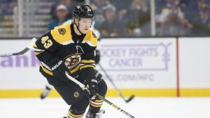 Danton Heinen's Great Read Leads To Sweet Setup On Charlie Coyle's Goal
