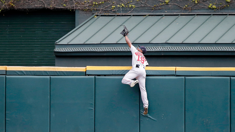 Red Sox's Jackie Bradley Jr. Earns MLB Network's 'Play Of The Year'
