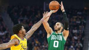 Celtics Wrap: Boston Battles Back To Beat Warriors 105-100 For 10th Straight