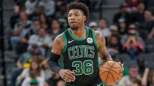 Marcus Smart Not Letting Ankle Injury Stop Him From Playing Vs. Clippers