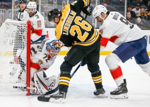 Bruins Have Strong First Period Vs. Panthers, Despite Turnover Issues