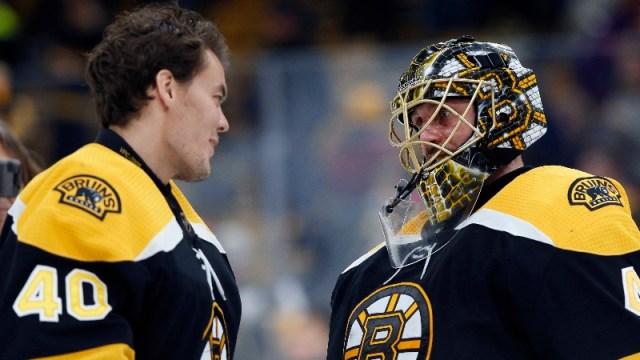NESN Bruins Podcast: Andrew Raycroft Talks Boston's Goaltending, Zdeno Chara