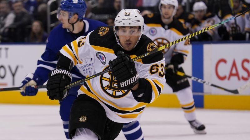 Brad Marchand Nets Thirteenth Goal Of Season After Strong Bruins Line Change