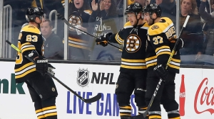 Bruins' Top Line Looked Shaky Friday For First Time So Far This Season