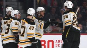 Bruins Extend Winning Streak After Dismantling Canadiens At Bell Centre