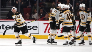Brad Marchand Secures 600th Career Point With First Period Goal Tuesday