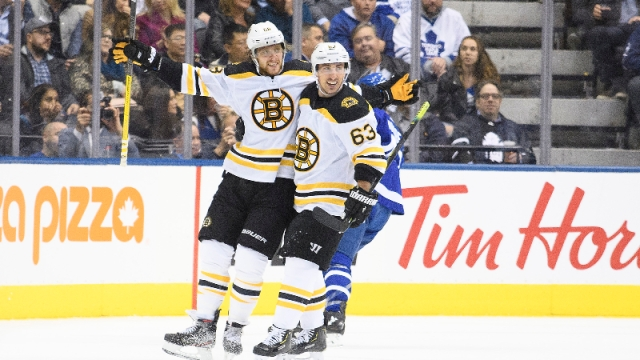 Berkshire Bank Hockey Night In New England: Projected Bruins-Maple Leafs Lines, Pairings