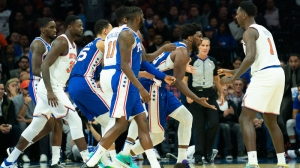 Marcus Morris' Beef With 'Flopping And Grabbing' Joel Embiid Gets Another Chapter