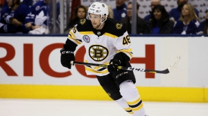 Matt Grzelcyk Gets Bruins On Board Vs. Devils With First Goal Of Season
