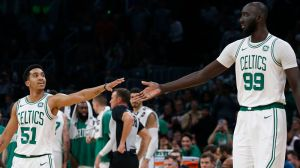 Tacko Fall, Tremont Waters Are Roommates While Playing For Red Claws