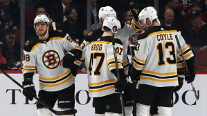 Ford Final Five Facts:  Brad Marchand Nets 600th Point, David Pastrnak Hat Trick