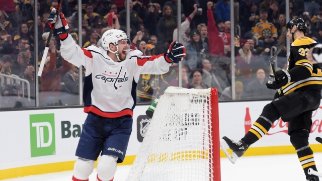 Bruins Fall To Capitals After T.J. Oshie Nets Late Goal To Force Overtime