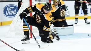Bruins Practice Lines Friday With Patrice Bergeron, David Krejci Out