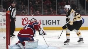 Berkshire Bank Hockey Night In New England: Projected Bruins-Canadiens Lines, Pairings