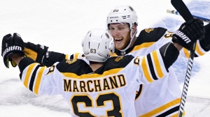 Watch David Pastrnak Score Game-Winning Goal For Bruins In Overtime