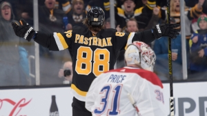 Bruins' David Pastrnak Joins Elite Company With 25th Goal, Unfazed By Milestone