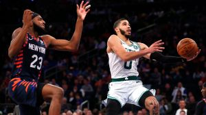 Kemba Walker Praises Jayson Tatum, Jaylen Brown After Win Vs. Knicks