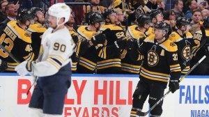 Patrice Bergeron Tormented Sabres' Defense When They Last Squared Off