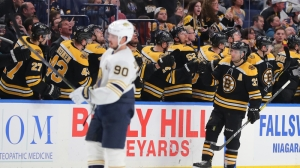 Bruins Wrap: Patrice Bergeron Scores Two In Boston's 3-0 Win Vs. Sabres